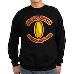 Anime Floral Fire Solavengers Sweatshirt (dark)