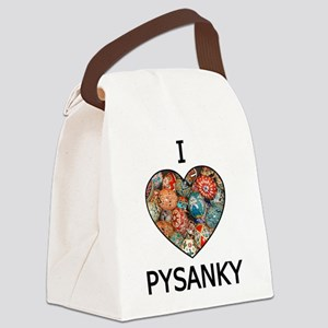 I love Pysanky 1 Canvas Lunch Bag