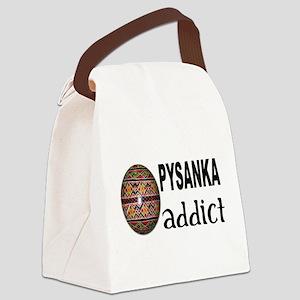 Pysanka Addict Canvas Lunch Bag
