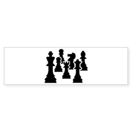 Chess Chessmen Sticker (Bumper)