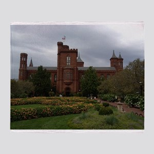 Smithsonian Castle Throw Blanket