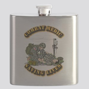 Combat Medic - Saving Lives Flask