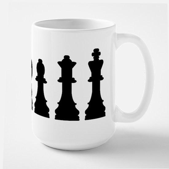 Evolution chess Large Mug