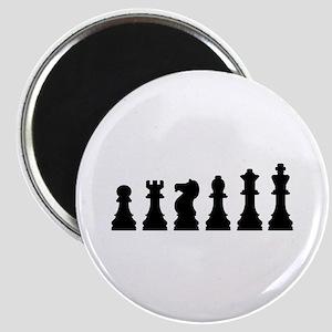 Evolution chess Magnet