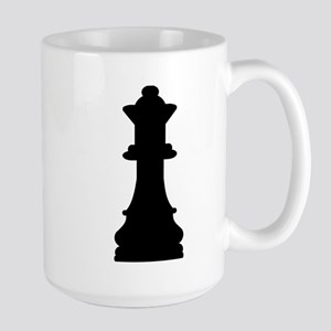 Chess queen Large Mug