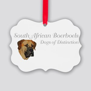 Boerboels Dogs of Distinction Picture Ornament