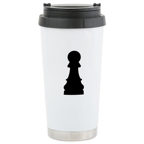 Chess pawn Stainless Steel Travel Mug