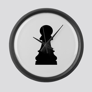 Chess pawn Large Wall Clock