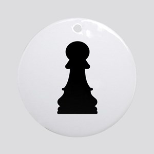 Chess pawn Ornament (Round)