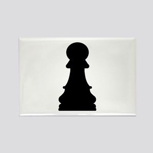 Chess pawn Rectangle Magnet