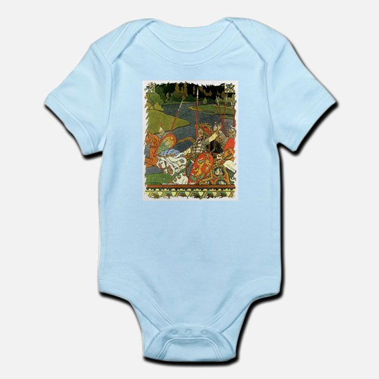 Russian Fairytale Infant Creeper