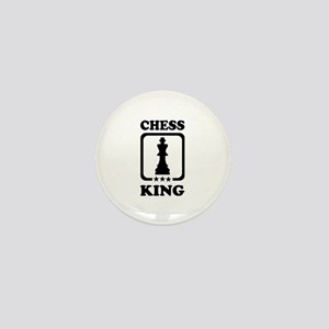 Chess king Mini Button