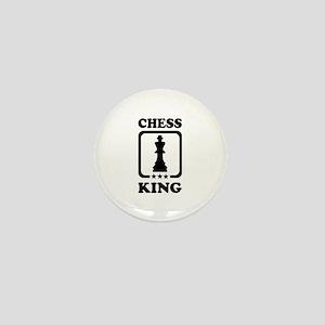 Chess king Mini Button