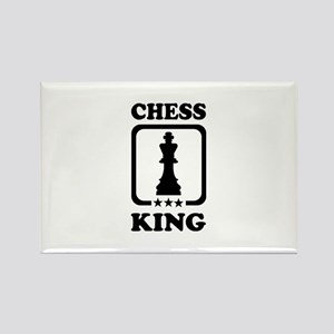 Chess king Rectangle Magnet