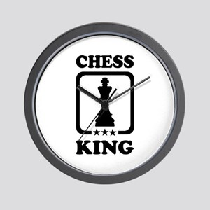 Chess king Wall Clock