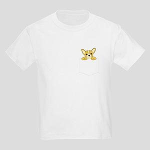 Chihuahua Pocket Pooch Kids Light T-Shirt