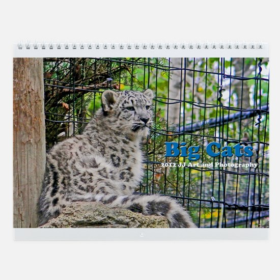 Big Cats Wall Calendar