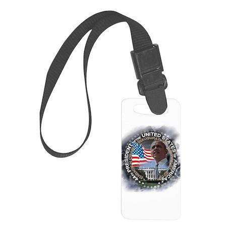 Obama Inauguration 01.21.13: Small Luggage Tag