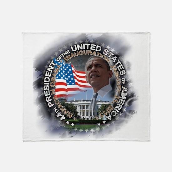 Obama Inauguration 01.21.13: Throw Blanket