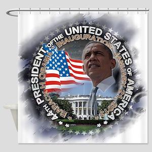 Obama Inauguration 01.21.13: Shower Curtain