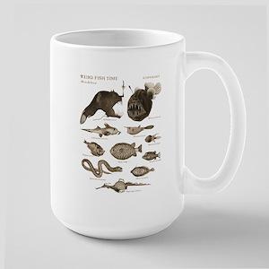 Weird Fish Time Large Mug