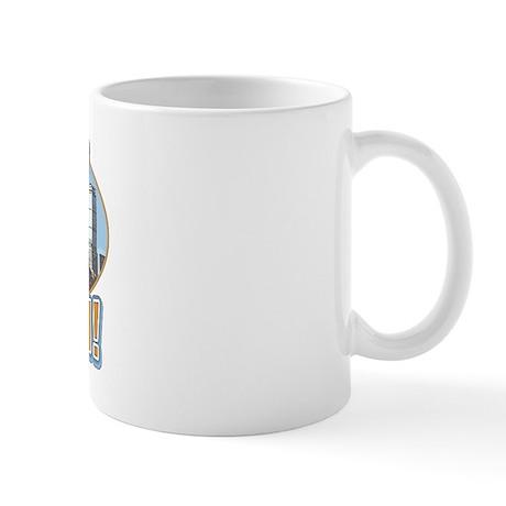Boston Skyline Wicked Pissah Mug