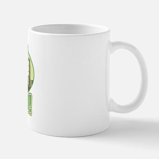 Green Boston Skyline Mug