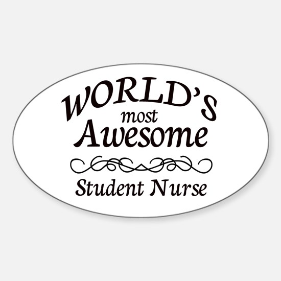 Awesome Sticker (Oval)