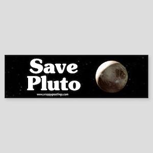 Save Pluto Bumper Sticker