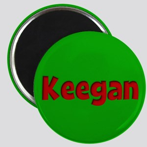 Keegan Green and Red Magnet