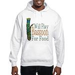 (CP) Will Play Bassoon lt Hooded Sweatshirt