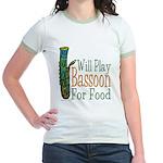 (CP) Will Play Bassoon lt Jr. Ringer T-Shirt
