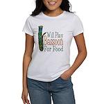 (CP) Will Play Bassoon lt Women's T-Shirt