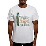 (CP) Will Play Bassoon lt Light T-Shirt