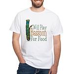(CP) Will Play Bassoon lt White T-Shirt