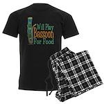 (CP) Will Play Bassoon dk Men's Dark Pajamas