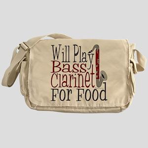 Will Play Bass Clarinet Messenger Bag