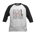 Will Play Bass Clarinet Kids Baseball Jersey