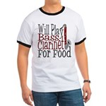 Will Play Bass Clarinet Ringer T