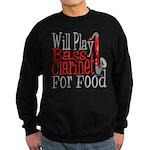 Will Play Bass Clarinet Sweatshirt (dark)