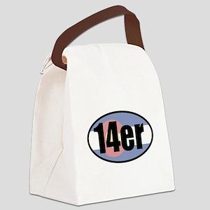Colorado 14ers Canvas Lunch Bag