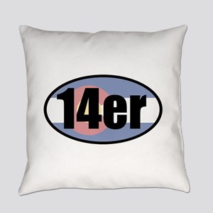 Colorado 14ers Everyday Pillow