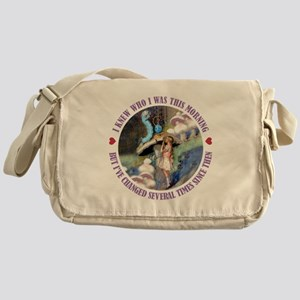 I Knew Who I was This Morning Messenger Bag