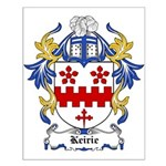 Keirie Coat of Arms Small Poster