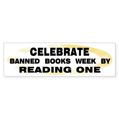 Banned Books Week Bumper Sticker