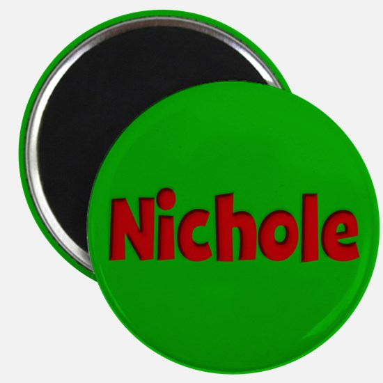Nichole Green and Red Magnet