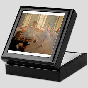 Famous Paintings: The Ballet School Keepsake Box