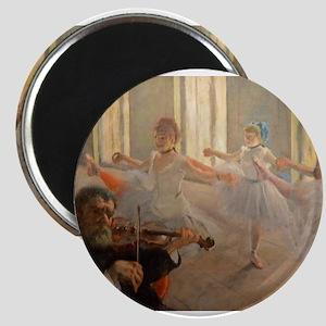 Famous Paintings: The Ballet School Magnet