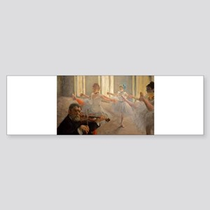 Famous Paintings: The Ballet School Sticker (Bumpe