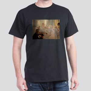 Famous Paintings: The Ballet School Dark T-Shirt